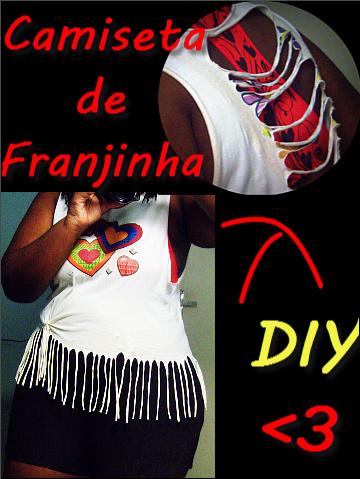 DIY - Camiseta de Franjinha